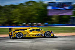 March 14, 2019 - Sebring, Etats Unis - 84 JDC MILLER MOTORSPORTS (USA) CADILLAC DPI CADILLAC SIMON TRUMMER (CHE) STEPHEN SIMPSON (ZAF) CHRIS MILLER  (Credit Image: © Panoramic via ZUMA Press)