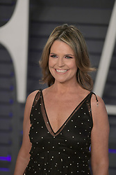 February 24, 2019 - Beverly Hills, California, U.S - Savannah Guthrie on the red carpet of the 2019 Vanity Fair Oscar Party held at the Wallis Annenberg Center in Beverly Hills, California on Sunday February 24, 2019. JAVIER ROJAS/PI (Credit Image: © Prensa Internacional via ZUMA Wire)