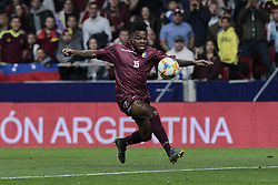 March 22, 2019 - Madrid, Spain - Venezuela's Jhon Murillo during International Adidas Cup match between Argentina and Venezuela at Wanda Metropolitano Stadium. (Credit Image: © Legan P. Mace/SOPA Images via ZUMA Wire)