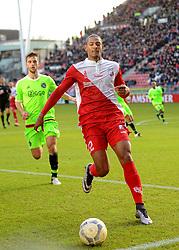 13-12-2015 NED: FC Utrecht - AFC Ajax, Utrecht<br /> Utrecht verslaat Ajax opnieuw in de Galgenwaard 1-0 / Sebastien Haller #22 FRA