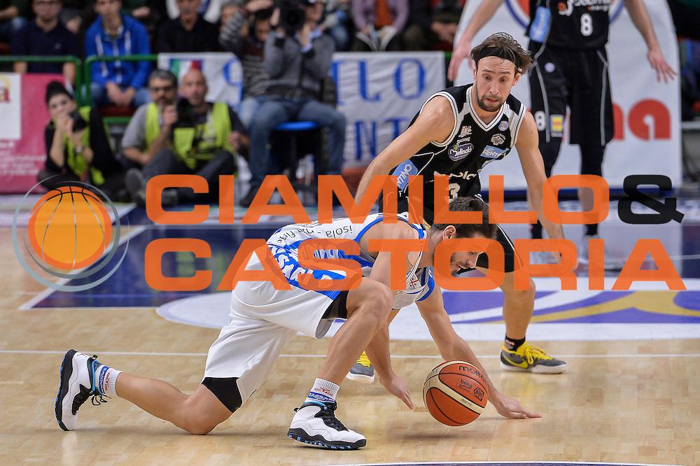DESCRIZIONE : Campionato 2015/16 Serie A Beko Dinamo Banco di Sardegna Sassari - Dolomiti Energia Trento<br /> GIOCATORE : Matteo Formenti<br /> CATEGORIA : Palla Persa Palleggio A Terra<br /> SQUADRA : Dinamo Banco di Sardegna Sassari<br /> EVENTO : LegaBasket Serie A Beko 2015/2016<br /> GARA : Dinamo Banco di Sardegna Sassari - Dolomiti Energia Trento<br /> DATA : 06/12/2015<br /> SPORT : Pallacanestro <br /> AUTORE : Agenzia Ciamillo-Castoria/L.Canu