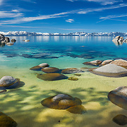 An image of Secret Cove at Lake Tahoe in Nevada