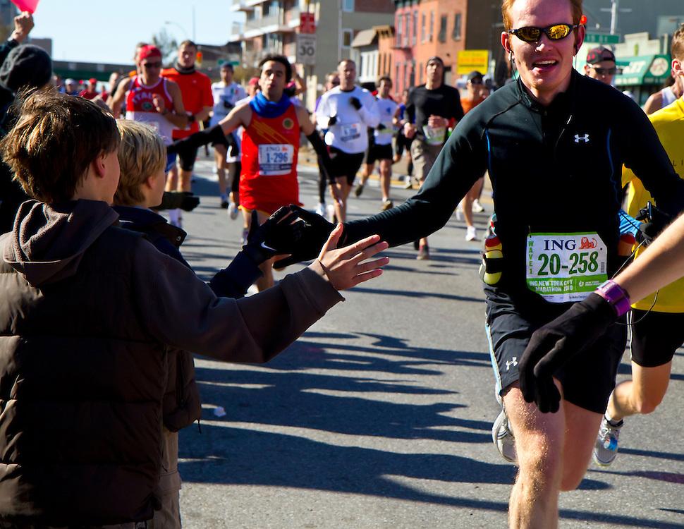 NYC Marathon, 2007.