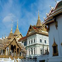 Building at Bangkok's Royal palace