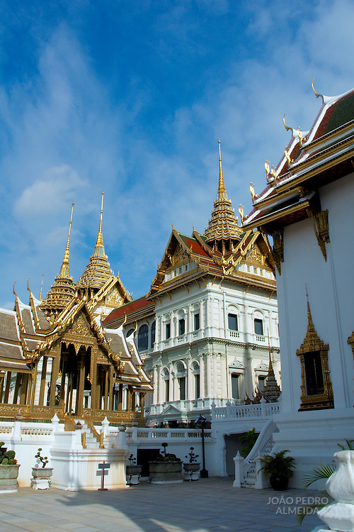 Building at Bangkok's Royal palace