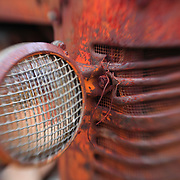 Rusted Headlight - Pottsville - Merlin, Oregon - Lensbaby