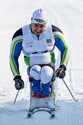 ROCHA Fernando, BRA, Long Distance Cross Country, 2015 IPC Nordic and Biathlon World Cup Finals, Surnadal, Norway