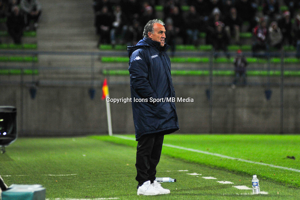 Ghislain Printant - 20.12.2014 - Caen / Bastia - 19eme journee de Ligue 1 <br /> Photo : Philippe Le Brech / Icon Sport