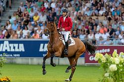 DEVOS Pieter (BEL), Claire Z<br /> Aachen - CHIO 2018<br /> Mercedes Benz Nationenpreis<br /> 19. Juli 2018<br /> © www.sportfotos-lafrentz.de/Stefan Lafrentz