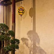 Dragon lantern at Tainan's God of War Temple, Taiwan