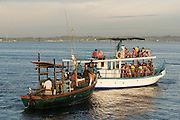 35 excursion boats now operate out of Mirissa.<br />