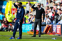 Charlton Athletic manager Lee Bowyer and Shrewsbury Town manager Paul Hurst - Mandatory by-line: Robbie Stephenson/JMP - 13/05/2018 - FOOTBALL - Montgomery Waters Meadow - Shrewsbury, England - Shrewsbury Town v Charlton Athletic - Sky Bet League One Play-Off Semi Final
