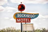 Historic Route 66, Tucumcari, New Mexico, Buckaroo Motel