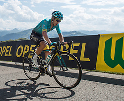 06.07.2017, Kitzbühel, AUT, Ö-Tour, Österreich Radrundfahrt 2017, 4. Etappe von Salzburg auf das Kitzbüheler Horn (82,7 km/BAK), im Bild Moreno Miguel Angel Lopez (COL, Astana Pro Team) Etappensieger // Miguel Angel Lopez Moreno of Colombia (Astana Pro Team) stage winner during the 4th stage from Salzburg to the Kitzbueheler Horn (82,7 km/BAK) of 2017 Tour of Austria. Kitzbühel, Austria on 2017/07/06. EXPA Pictures © 2017, PhotoCredit: EXPA/ Reinhard Eisenbauer