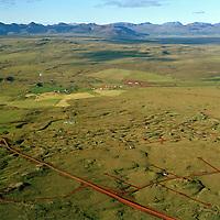 Klausturhólar og Hallkelshólar séð til norðurs, Grímsnes- og Grafningshreppur / Klausturholar and Hrafnkelshólar viewing north, Grimsnes- og Grafningshreppur.