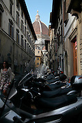 Duomo as seen through other buildings, Florence, Italy, Frommer's Italy Day By Day