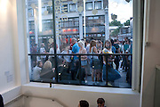The VICE Photo Exhibition 2009 - private view of an exhibition of work originally published in Vice magazine.. <br /> The Print Space, 74 Kingsland Road, London E2. 12 August 2009