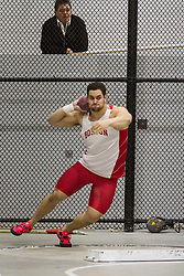 Boston University John Terrier Classic Indoor Track & Field: mens shot put, Ethan Knight, BU