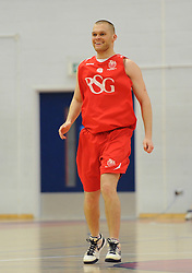 Joel Osbourne - Photo mandatory by-line: Dougie Allward/JMP - Mobile: 07966 386802 - 23/05/2015 - SPORT - Basketball - Bristol - SGS Wise Campus - Bristol Flyers v  - Bristol Flyers All-Star Game