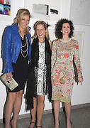Nadja Swarovski, Iwona Blazwick and Mollie Dent-Brocklehurst attends the Swarovski Whitechapel Gallery Art Plus Opera, Whitechapel Gallery. An evening of art and opera raising funds for the Whitechapel Gallery. 77-82 Whitechapel High St. London E1 3BQ. 15 March 2012.