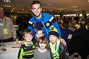 Players sponsorship Forest Green Rovers Christian Doidge(9) during the EFL Sky Bet League 2 match between Forest Green Rovers and Crawley Town at the New Lawn, Forest Green, United Kingdom on 24 February 2018. Picture by Shane Healey.