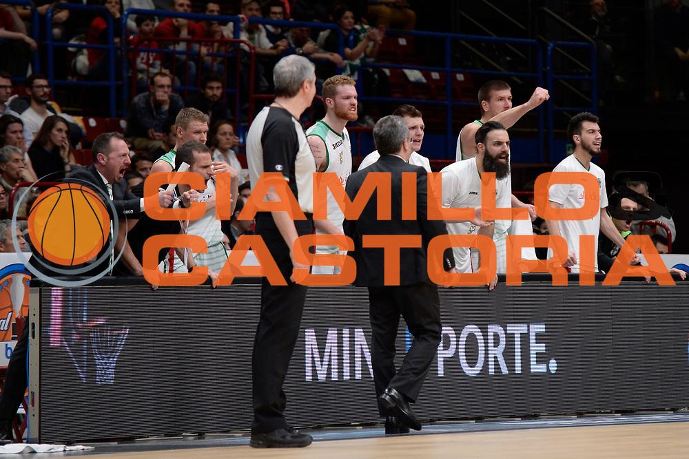 DESCRIZIONE : Beko Final Eight Coppa Italia 2016 Serie A Final8 Finale Olimpia EA7 Emporio Armani Milano - Sidigas Scandone Avellino<br /> GIOCATORE : Sidigas Scandone Avellino<br /> CATEGORIA : Ritratto Esultanza<br /> SQUADRA : Sidigas Scandone Avellino<br /> EVENTO : Beko Final Eight Coppa Italia 2016<br /> GARA : Finale Olimpia EA7 Emporio Armani Milano - Sidigas Scandone Avellino<br /> DATA : 21/02/2016<br /> SPORT : Pallacanestro <br /> AUTORE : Agenzia Ciamillo-Castoria/C.Atzori