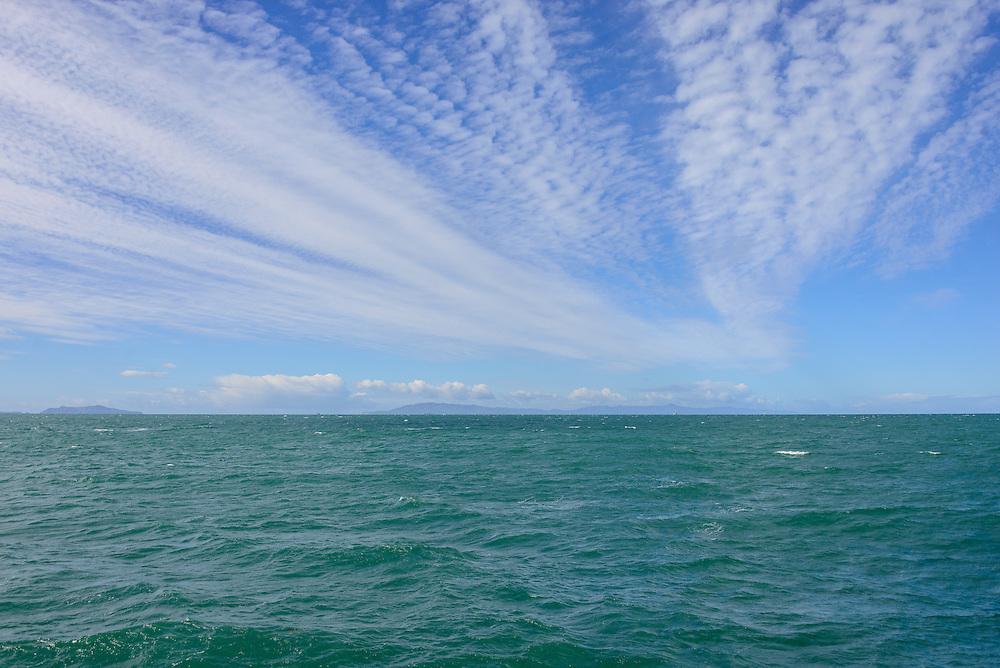 Looking at Channel Islands Coastline, Ventura, California