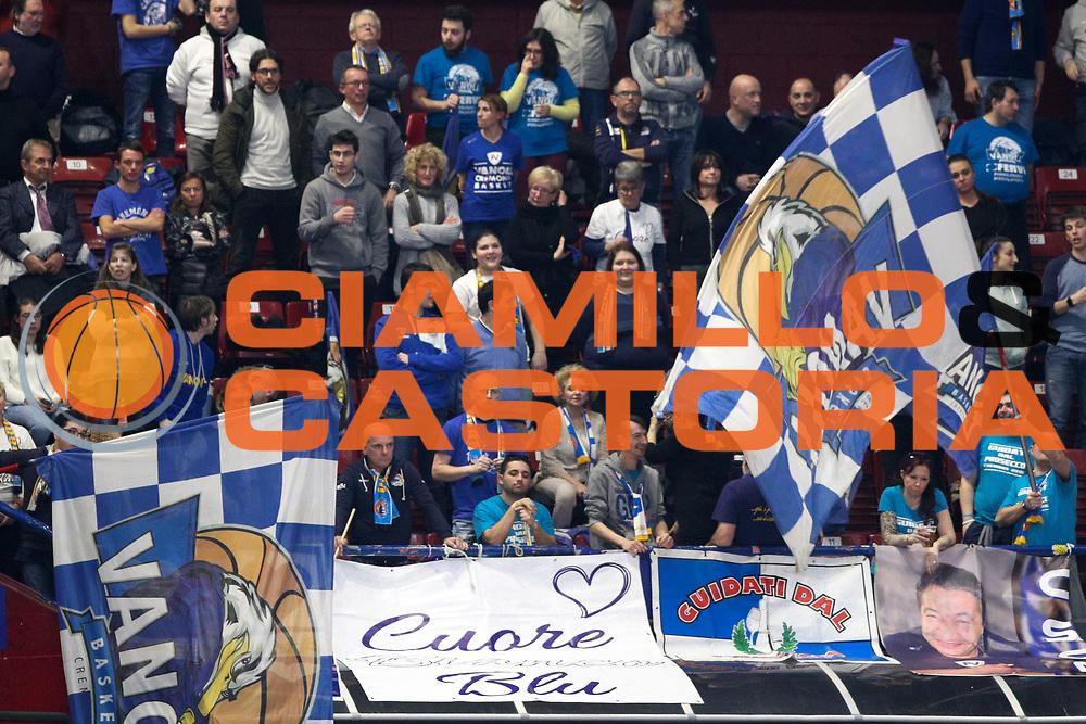 Tifosi Cremona, EA7 Emporio Armani Milano vs Vanoli Cremona - 16 giornata Campionato LBA 2017/2018, Milano Mediolanum Forum 22 gennaio 2018 - foto BERTANI/Ciamillo
