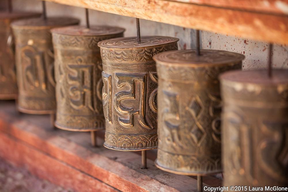 Prayer Wheels, Spiti/Lahaul Valley, India