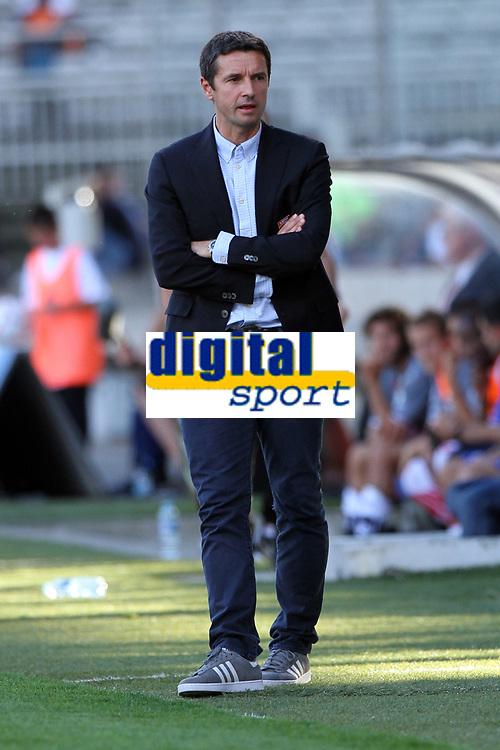 FOOTBALL - FRENCH CHAMPIONSHIP 2012/2013 - L1 - OLYMPIQUE LYONNAIS v AC AJACCIO - 16/09/2012 - PHOTO EDDY LEMAISTRE / DPPI - Rémi GARDE (LYON COACH)
