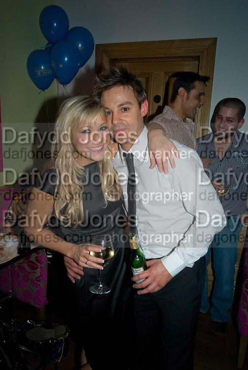SUZANNE SHAW  AND JK, Bingo Lotto launch party. Soho Hotel Richmond Mews. London. 29 February 2008.  *** Local Caption *** -DO NOT ARCHIVE-© Copyright Photograph by Dafydd Jones. 248 Clapham Rd. London SW9 0PZ. Tel 0207 820 0771. www.dafjones.com.