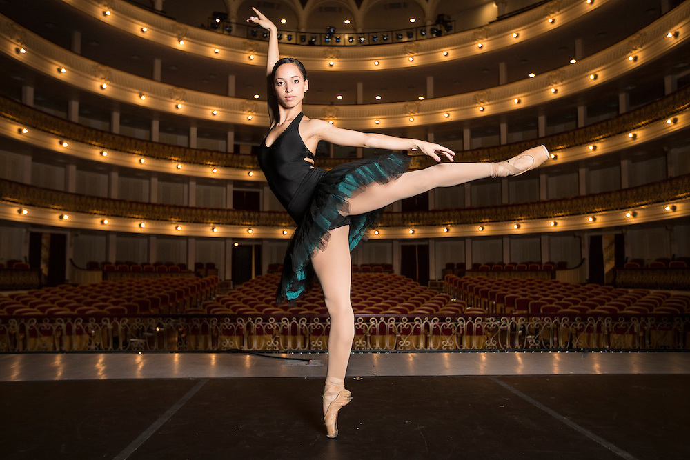 Claudia Garcia, member National Ballet of Cuba