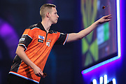 Geert Nentjes during the PDC William Hill Darts World Championship at Alexandra Palace, London, United Kingdom on 13 December 2019.