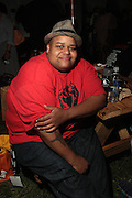 August 25, 2012-Brooklyn, NY: Recording Toshi Reagon backstage at the Afropunk Festival 2012 held in Brooklyn, NY on August 25, 2012. The Afropunk Festival has become a Brooklyn intuition, the focal point for the burgeoning Afro-punk movement. Over the past seven years, the festival has presented new artists before they hit it big, such as Grammy-nominated Santigold, The Noisettes and Janelle Monae. Afro-punk mainstays like Saul Williams, The Dirtbombs, and Dallas Austin have also graced Afro-punk's stages. (Terrence Jennings/TerrenceJennings.com)