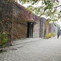 BEIJING, OCT. 22: Das Anwesen von Shao Fan und Anna Liuli von Aussen gesehen.