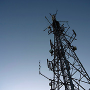 Communications Tower for Mobile Phones and Digital TV