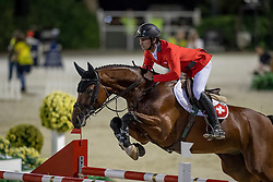 Guerdat Steve, SUI, Corbinian<br /> Furusiyya FEI Nations Cup Jumping Final - Barcelona 2016<br /> © Hippo Foto - Dirk Caremans<br /> 24/09/16