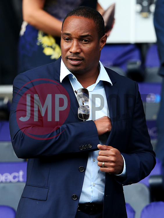 Paul Ince, father of Huddersfield Town's Tom Ince watches from the stand - Mandatory by-line: Matt McNulty/JMP - 26/08/2017 - FOOTBALL - The John Smith's Stadium - Huddersfield, England - Huddersfield Town v Southampton - Premier League