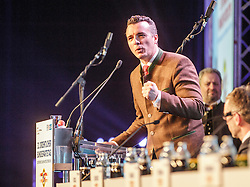 04.03.2017, Messe, Klagenfurt, AUT, FPÖ, 32. Ordentlicher Bundesparteitag, im Bild Landesrat Gernot Darmann // at the 32nd Ordinary Party Convention of the Freiheitliche Partei Oesterreich (FPÖ) in Klagenfurt, Austria on 2017/03/04. EXPA Pictures © 2017, PhotoCredit: EXPA/ Wolgang Jannach