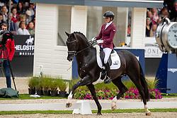 Scholtens Emmelie, NED, Kevin Costner Texel<br /> World Championship Young Dressage Horses - Ermelo 2019<br /> © Hippo Foto - Dirk Caremans<br /> Scholtens Emmelie, NED, Kevin Costner Texel