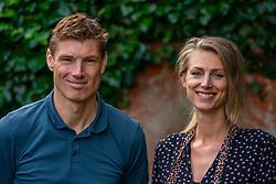 19-07-2019 NED: vd Goor & Nummerdor-Flier, Apeldoorn<br /> Volleyball World Cup 2022 tournament directors Bas van de Goor and Manon Nummerdor-Flier