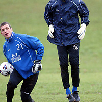 St Johnstone Training..26.02.02   <br />