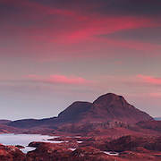 SHORTLISTED - Scottish nature photography awards<br /> <br /> Moon over Cul Mor, Cul Beag and Stac Pollaidh