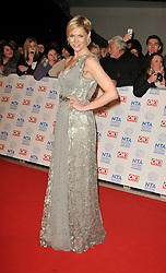 Jenni Falconer Arrives At The annual National Television Awards 2013, O2 Arena, Greenwich, London, UK, January 23, 2013. Photo by i-Images.
