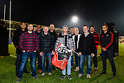 CAT staff and players during the Super Rugby match, Crusaders V Blues at Christchurch Stadium, Christchurch, New Zealand, 25th May 2019.Copyright photo: John Davidson / www.photosport.nz