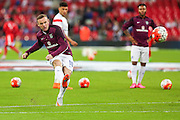 England's Wayne Rooney  before the UEFA European 2016 Qualifying match between England and Switzerland at Wembley Stadium, London, England on 8 September 2015. Photo by Shane Healey.