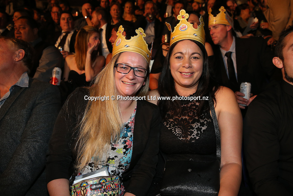 Guests at the Burger King Road to the Title by Duco Boxing. Saturday 21 May 2016. Auckland, New Zealand. © Copyright Photo: Fiona Goodall / www.photosport.nz