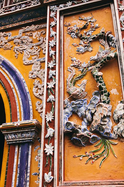 Imperial Citadel. Hue, Vietnam