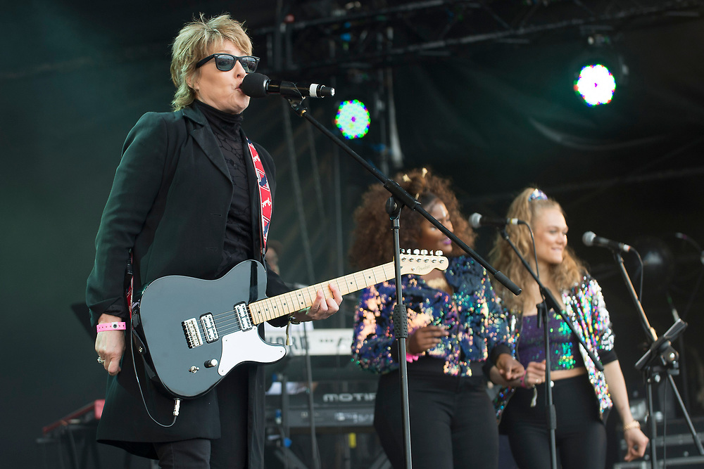 Katrina and The Waves in concert at Lets Rock Scotland, Dalkeith Country Park, Edinburgh, Great Britain 23rd June 2018