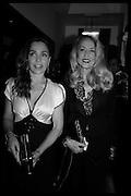 JEANNE MARINE; JERRY HALL, Nicky Haslam hosts dinner at  Gigi's for Leslie Caron. 22 Woodstock St. London. W1C 2AR. 25 March 2015